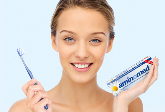 Aminomed - Bei Entzündungen des Zahnfleischs