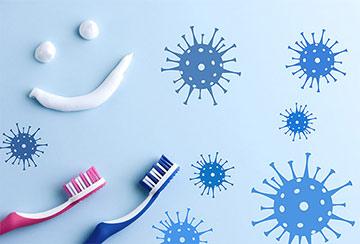 Zähneputzen gegen Viren & Bakterien
