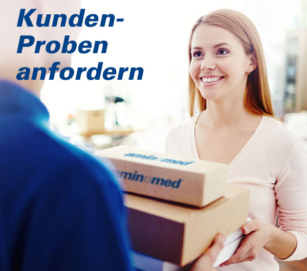 Aminomed - Probenanforderung