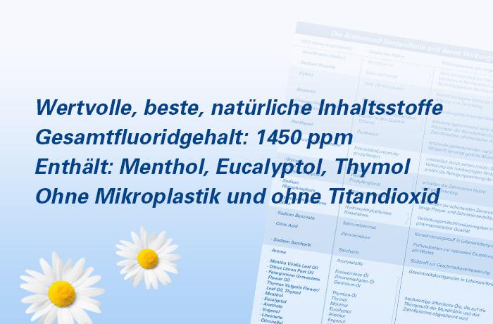 Aminomed - INCI-Erläuterung